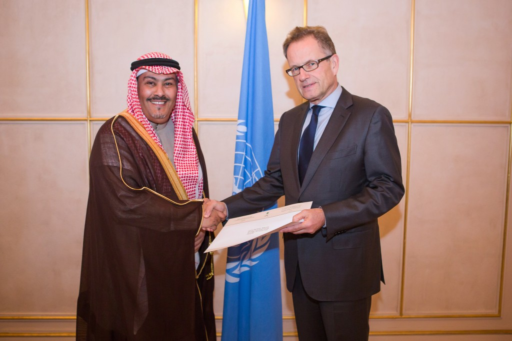 Presentation of Credentials by Saudi Arabia in Geneva