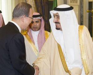 Saudi Salman and Ban